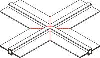 Гидроизоляционная шпонка тип ДВ
